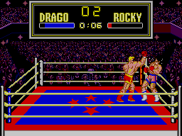 Rocky SEGA Master System A Strong Uppercut By Drago