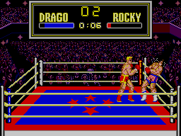 Rocky SEGA Master System How Will Rocky Handle This??