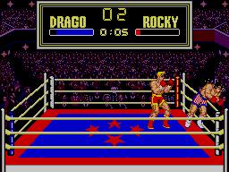 Rocky SEGA Master System He's Not Human! He's Like A Piece Of Iron!!