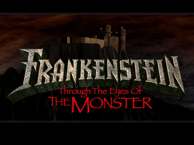 Frankenstein: Through the Eyes of the Monster Windows Title screen