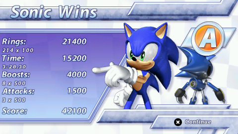 Sonic Rivals Screenshots For Psp Mobygames