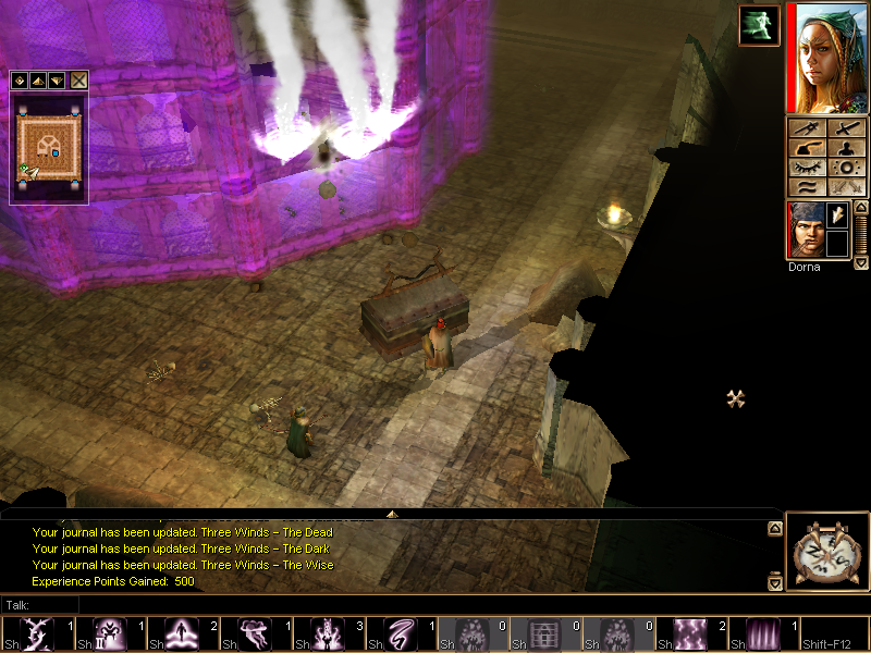 Neverwinter Nights: Shadows of Undrentide Windows The barrier's doorway comes down at last!