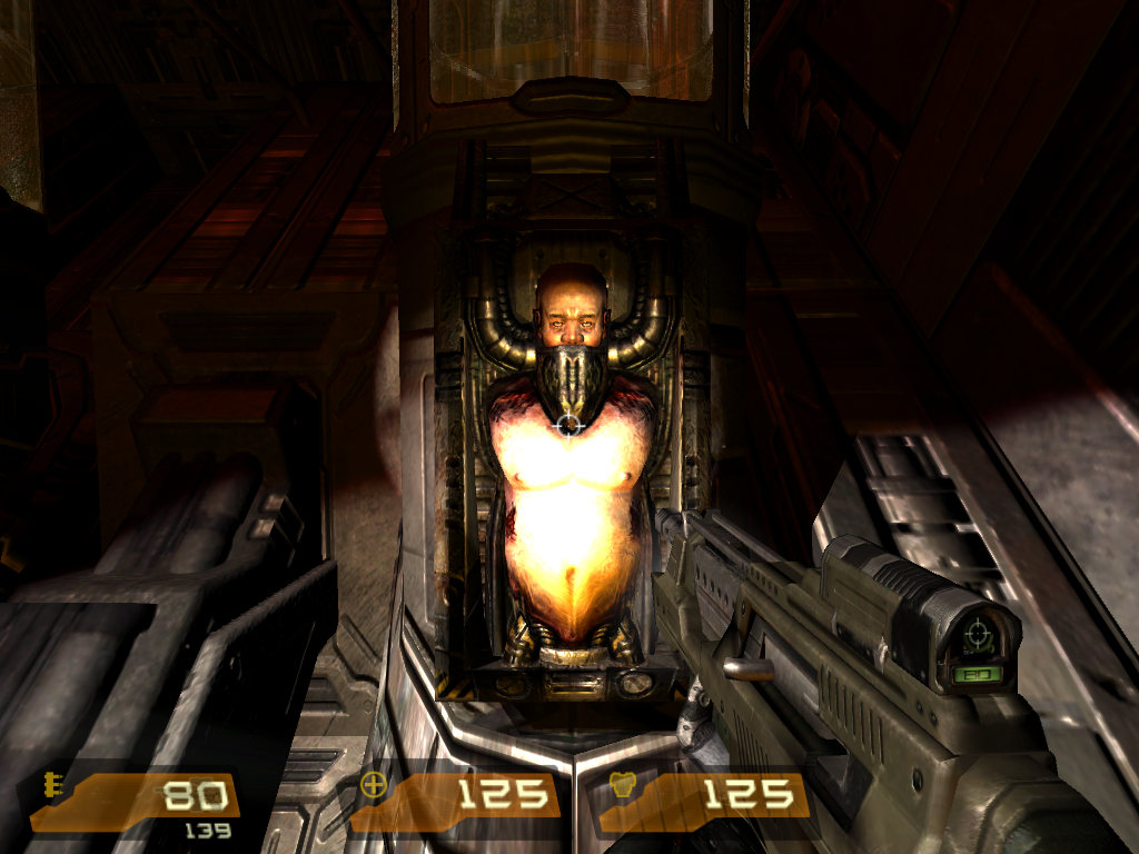 Quake 4 Windows If the captured humans do not have what it takes to be a Strogg, the Stroggs turns them into this. Torso Batteries, a way to get bio-electronic energy.
