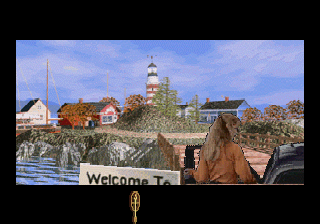 Roberta Williams' Phantasmagoria SEGA Saturn Innsmouth, where outsiders are killed and eaten... but we're off today, so never mind.