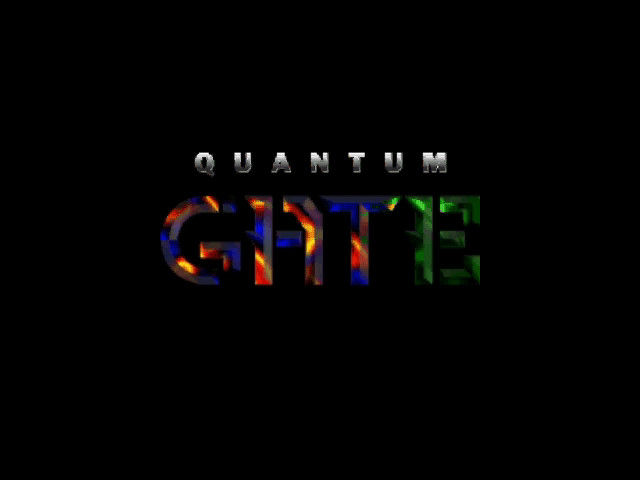 Quantum Gate Windows 3.x Title animation