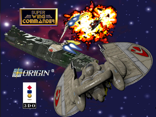 Super Wing Commander 3DO Title screen