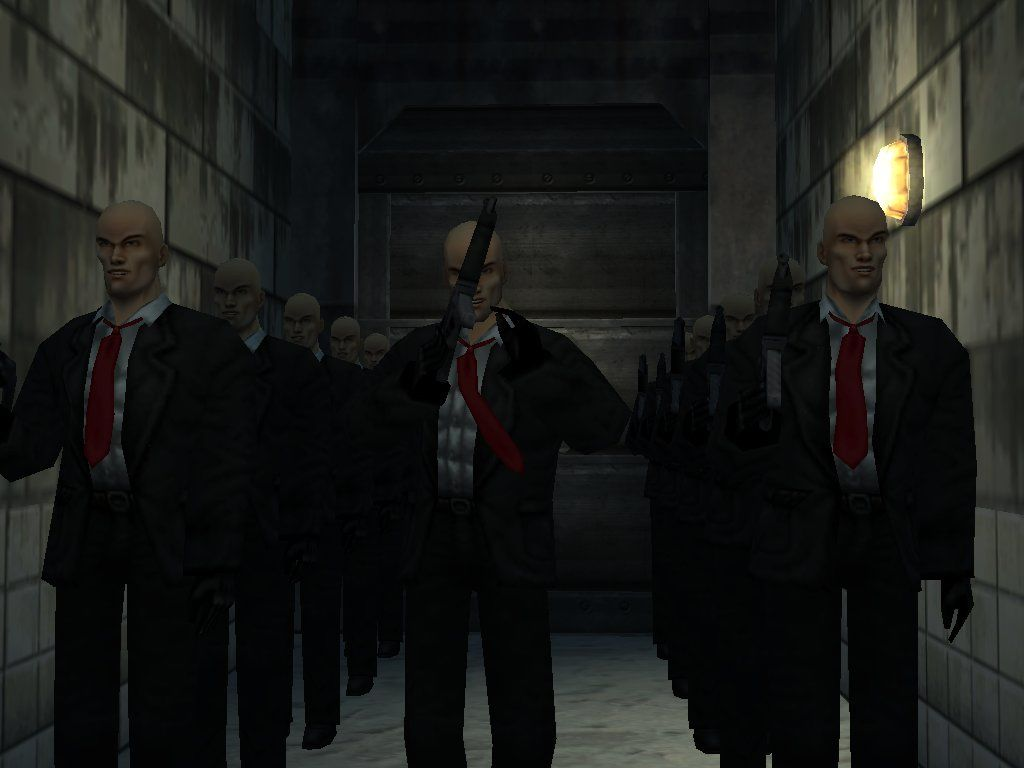 Hitman: Codename 47 Windows Agent 47 powerful brothers!