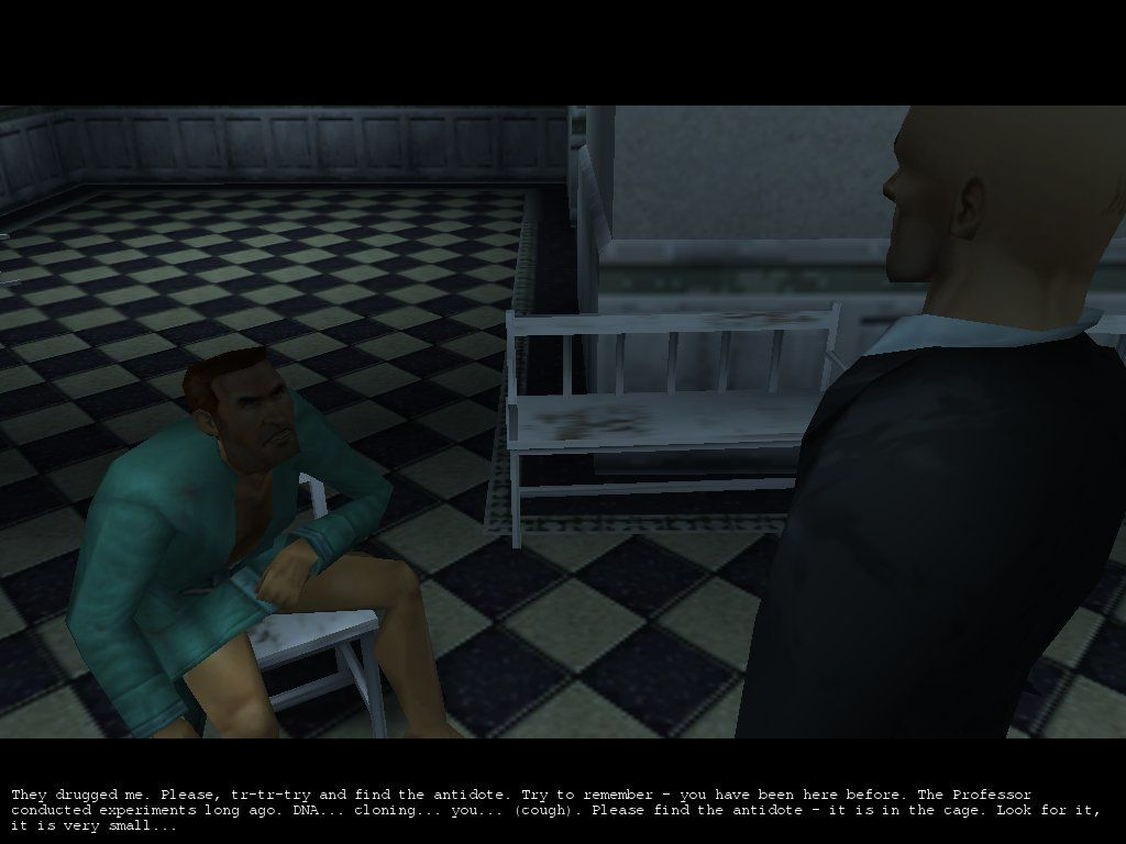 Hitman: Codename 47 Windows Agent Smith tell to agent 47 truth!