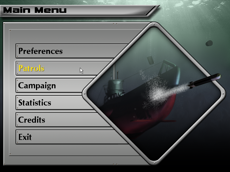 Enigma: Rising Tide Windows Opening menu