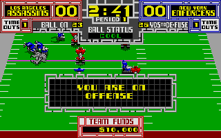Cyberball Atari ST Managed to run it a few yards