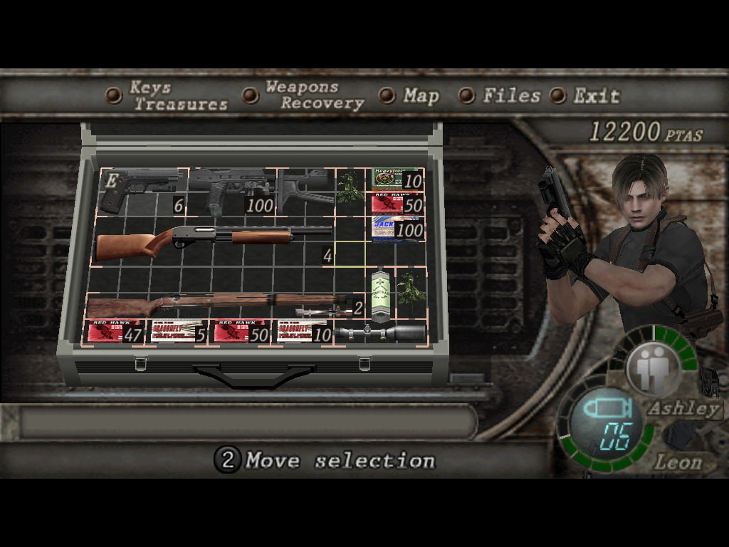 Resident Evil 4 Windows Inventory