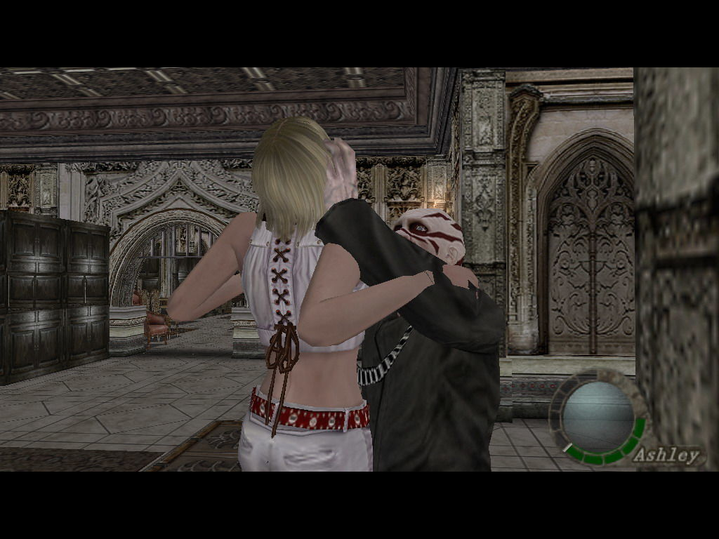 Resident Evil 4 Windows Too close to the enemy.