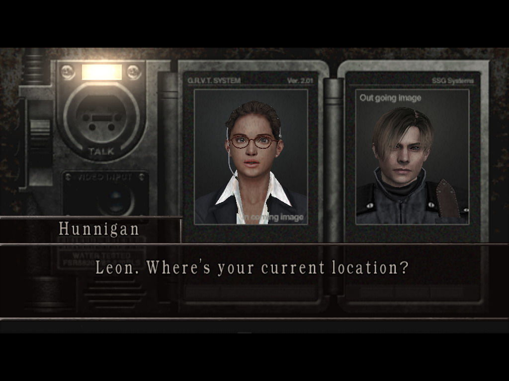 Resident Evil 4 Windows Hunnigan on intercom