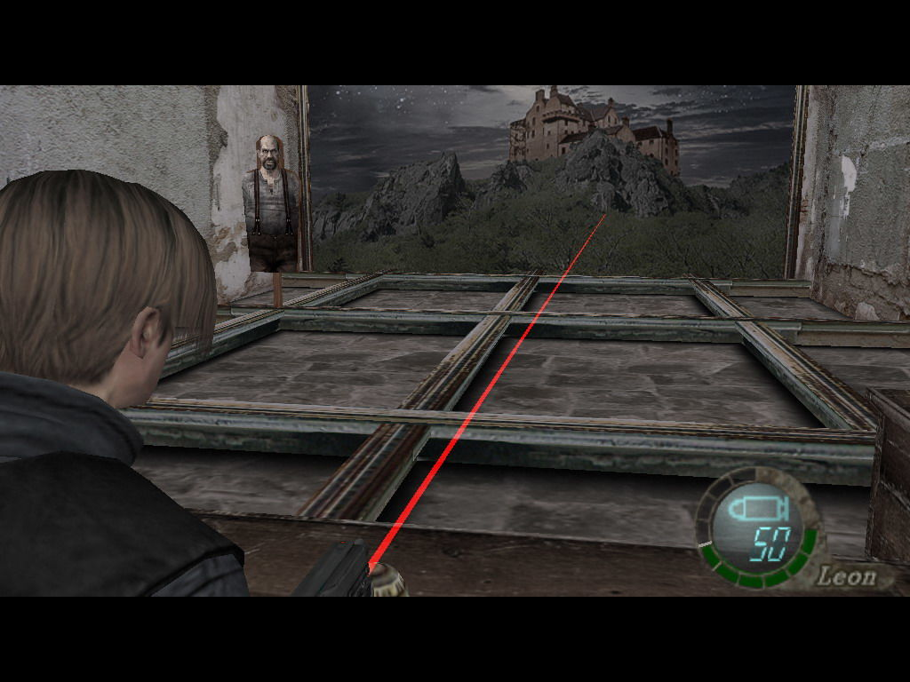Resident Evil 4 Windows The minigame (shooting the targets.)