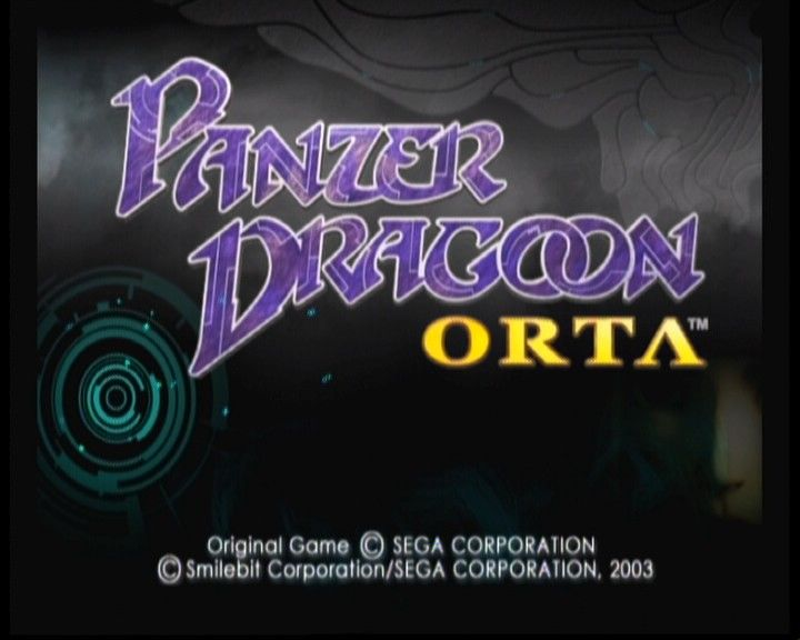 Panzer Dragoon Orta Xbox Title screen