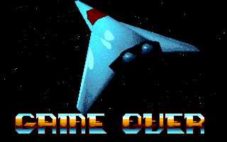 Eagle's Rider DOS Game Over (VGA)