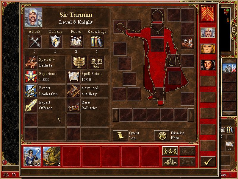 Heroes Chronicles: Conquest of the Underworld Windows Sir Tarnum, I can't believe it!