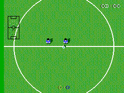 Super Kick Off SEGA Master System Kick off!