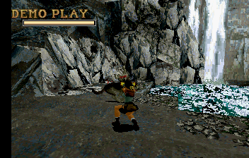 Tomb Raider SEGA Saturn Fighting some more wolves