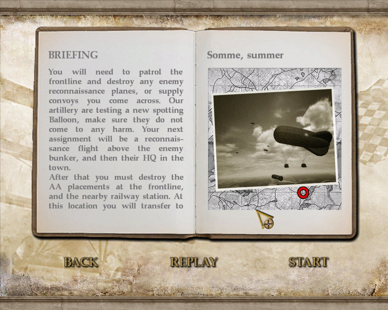 Wings of War Windows Briefing...