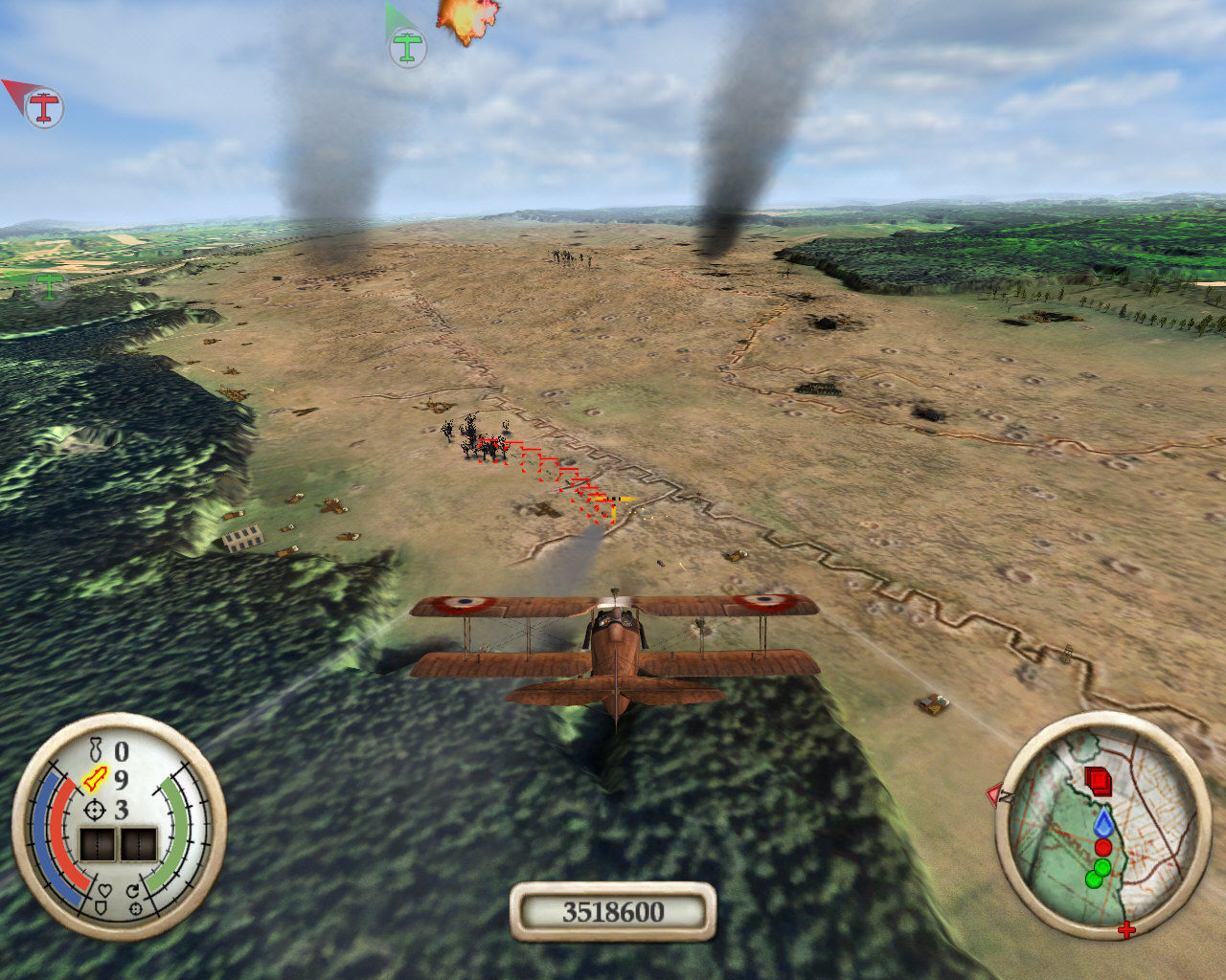 Wings of War Windows Ground targets up ahead!