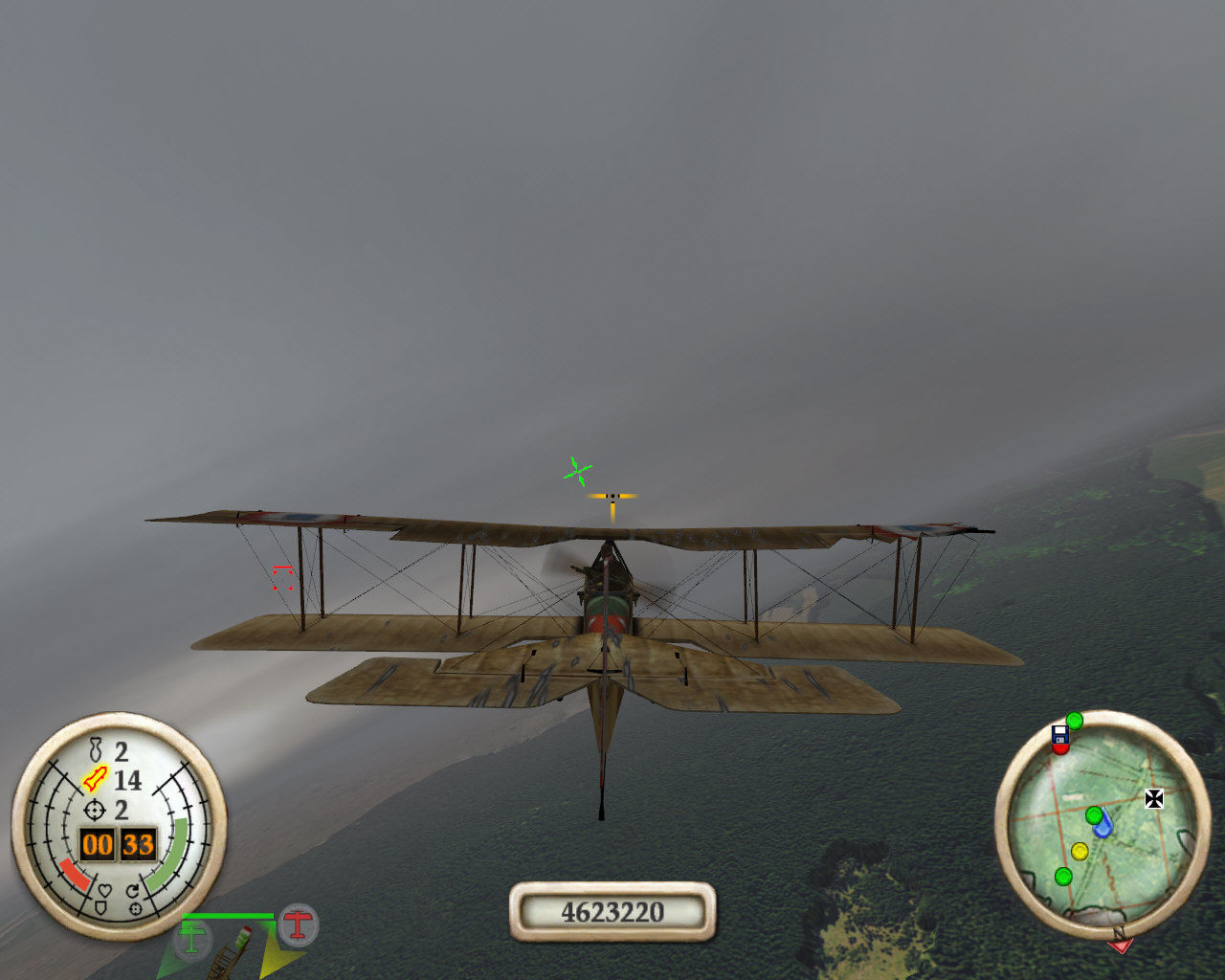 Wings of War Windows Now we are on a bomber!