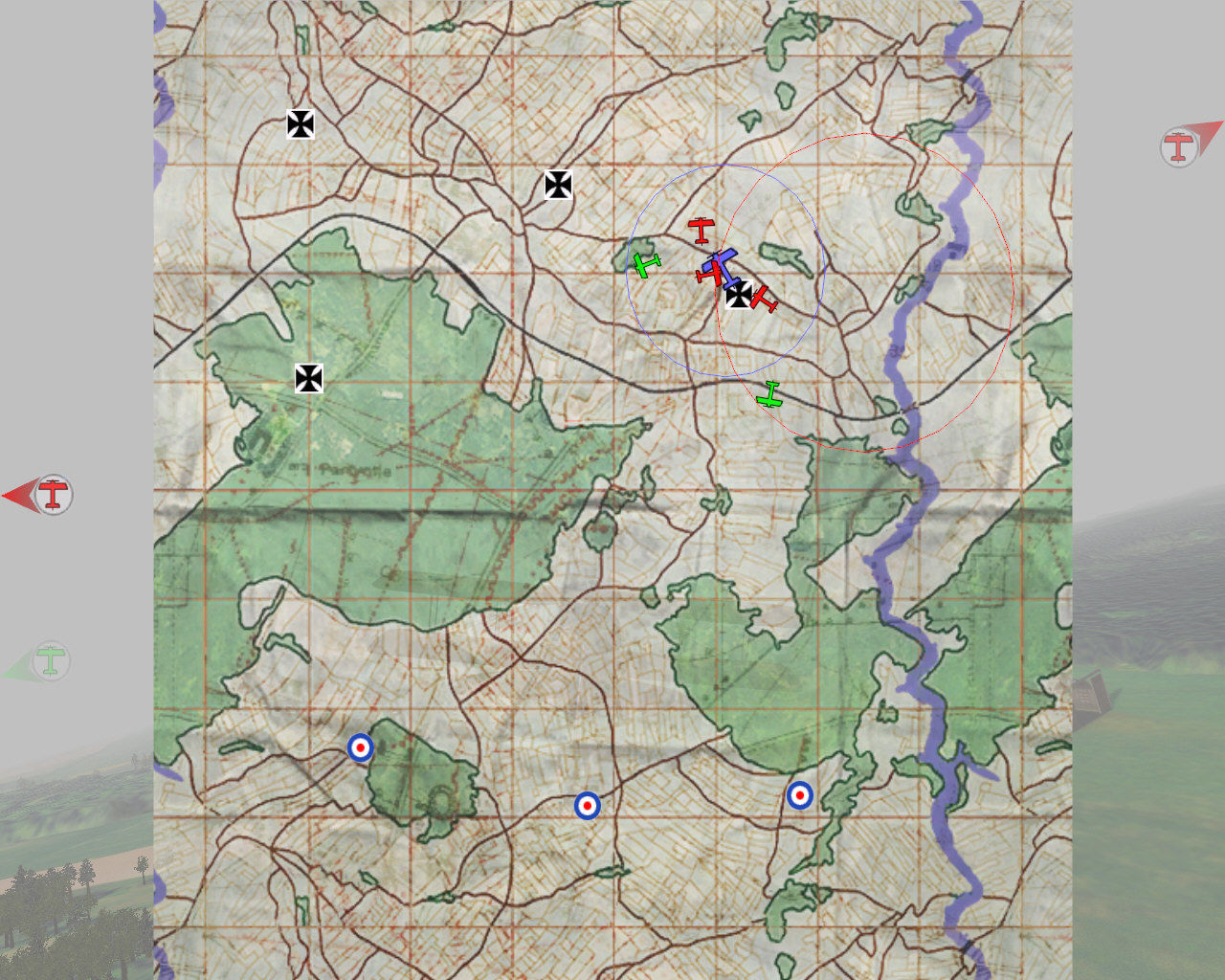 Wings of War Windows Mission map