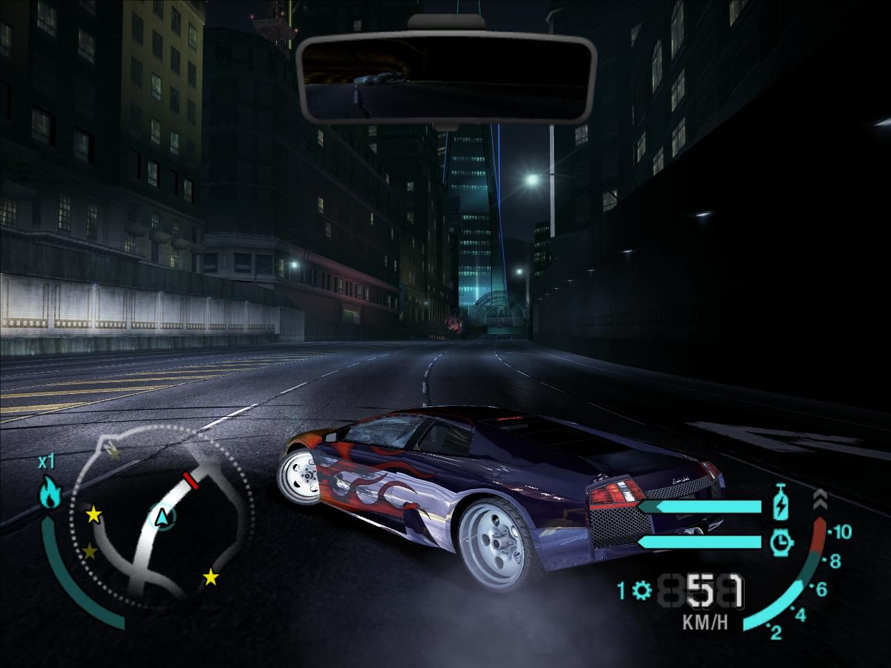 Need for Speed: Carbon Windows External camera view
