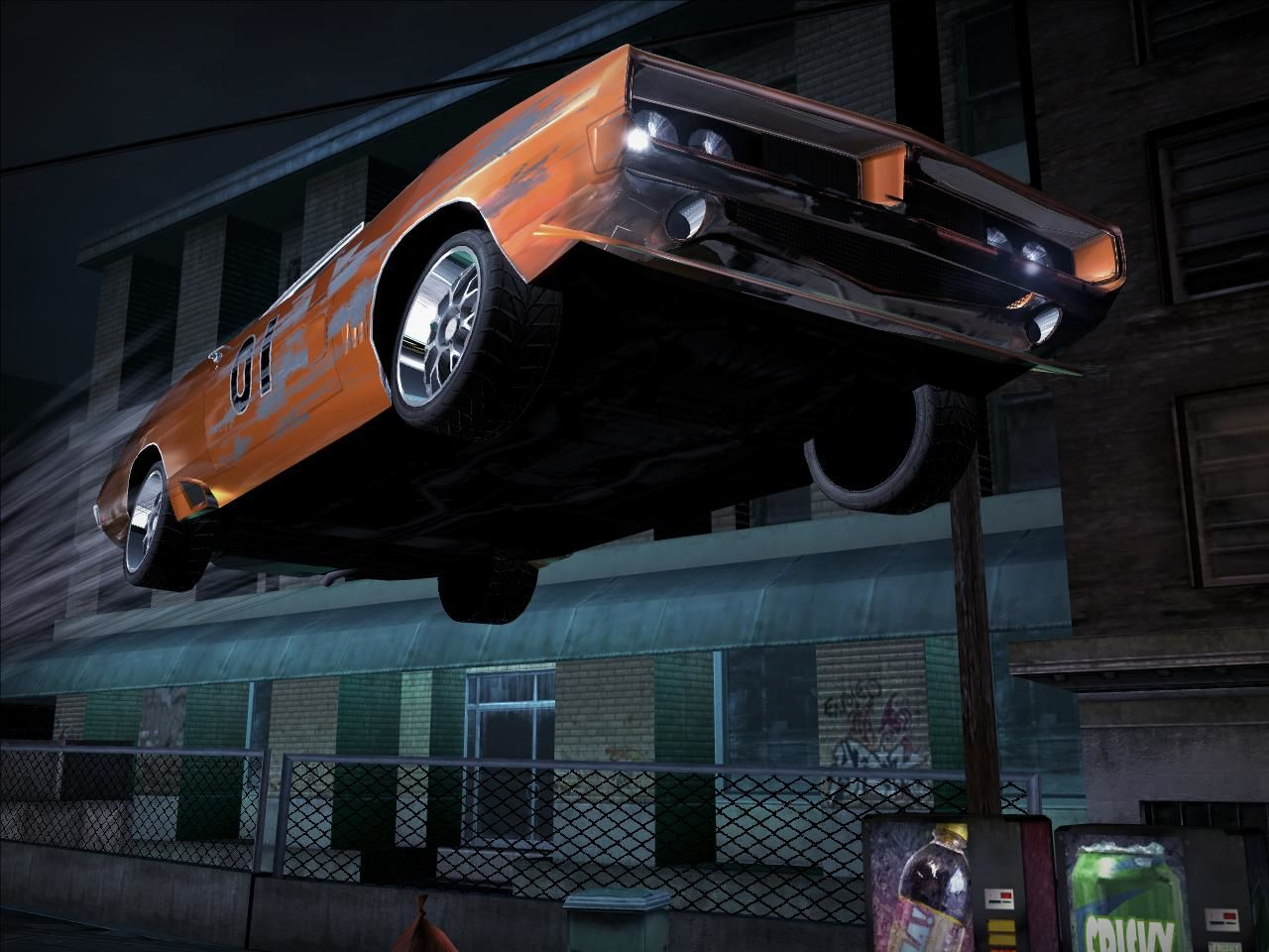 Need for Speed: Carbon Windows Yeehaaaww (Dixie horn)! The game has spectacular jump scene cameras!