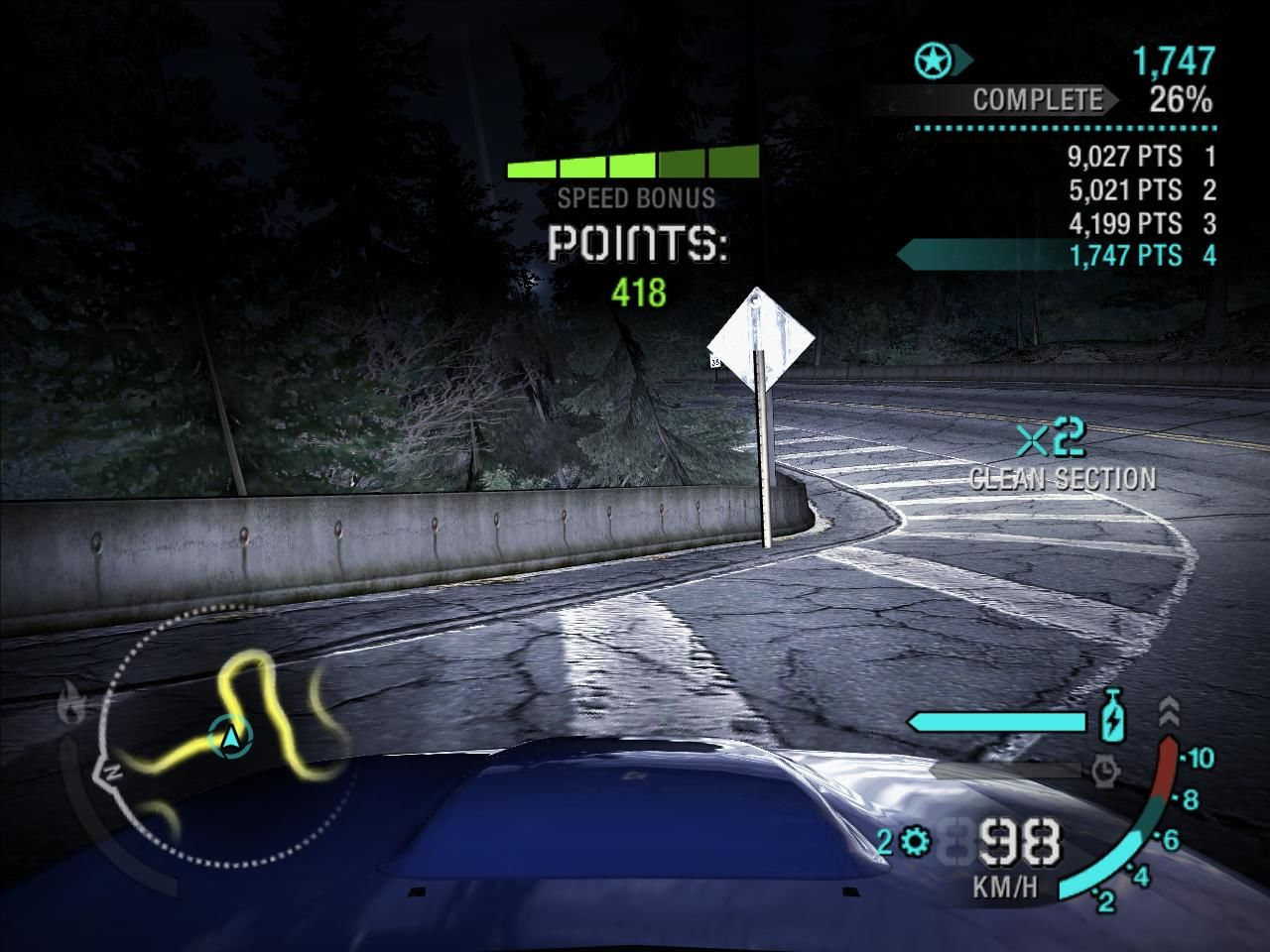 Need for Speed: Carbon Windows Drift races are back thankfully! and they are always fun!
