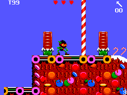 Zool SEGA Master System Starting location
