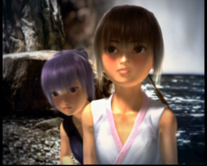 Dead or Alive: Ultimate Xbox Opening cinematics focuses mostly on Ayane and Kasumi.