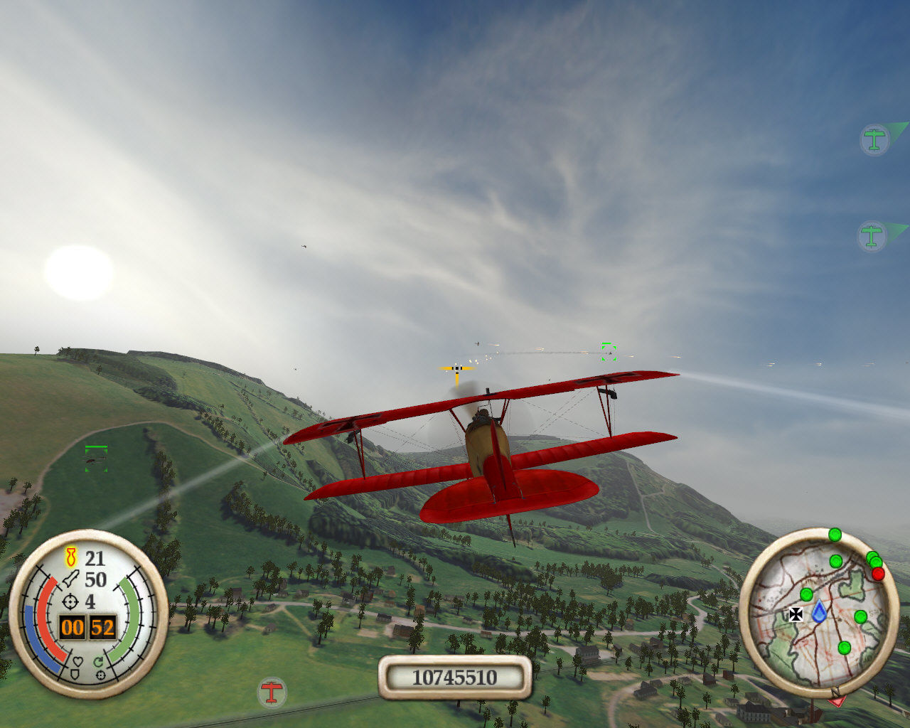 Wings of War Windows The red baron flies again!