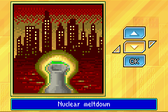 SimCity 2000 Game Boy Advance Four scenarios are available.