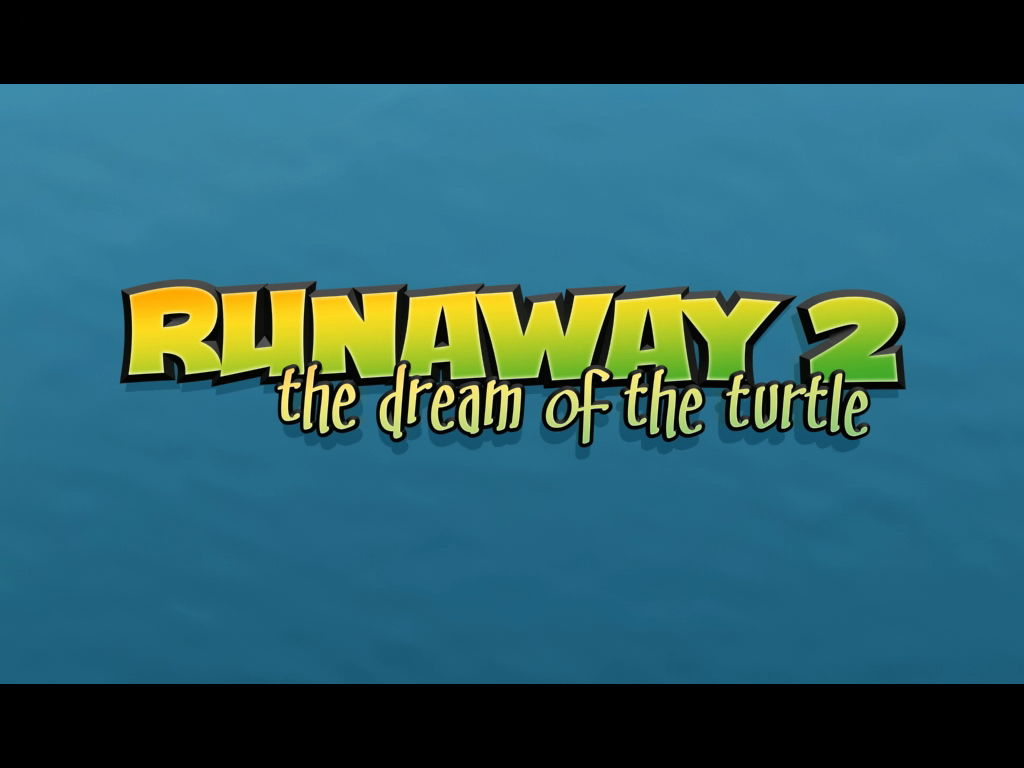 Runaway 2: The Dream of the Turtle Windows Title screen