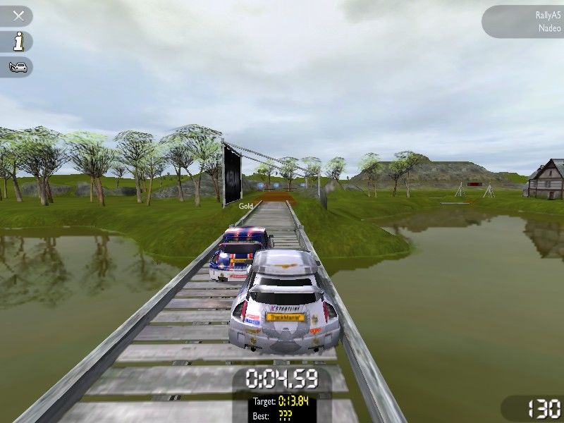 TrackMania United Windows This lake doesn't look clean