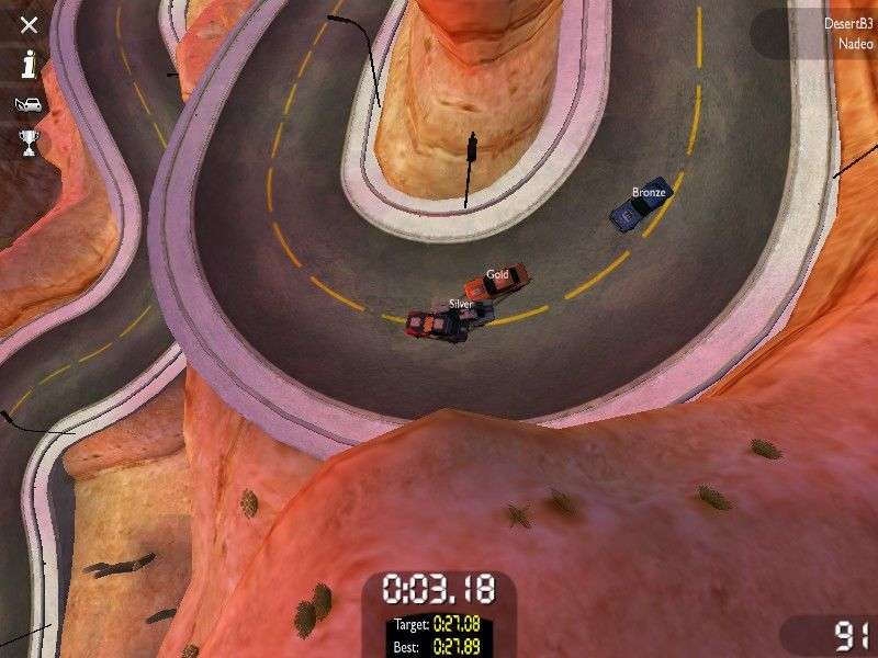 TrackMania United Windows Top-down view