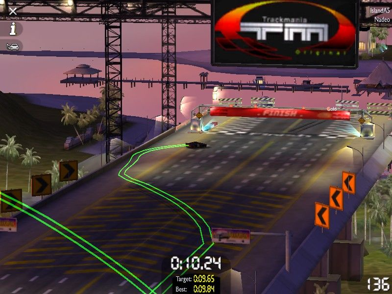 TrackMania United Windows Trails are fun