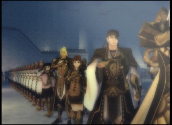 Suikoden V PlayStation 2 Introduction movie, miscellaneous characters