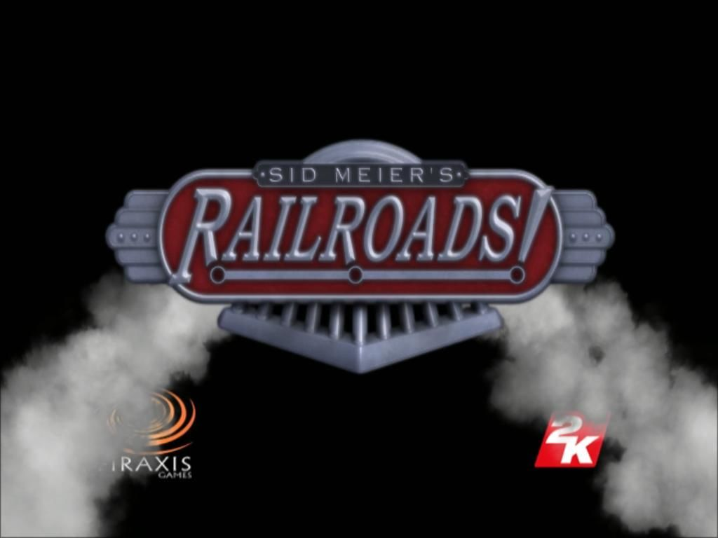 Sid Meier's Railroads! Windows Title screen