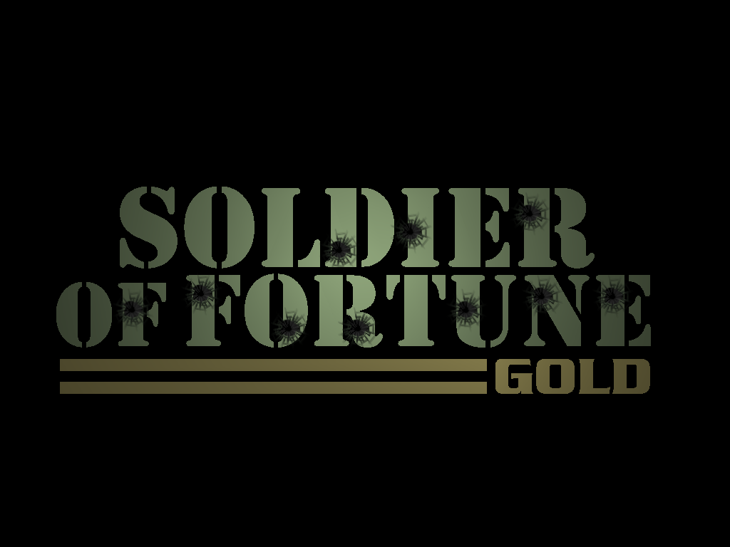 Soldier of Fortune: Gold Edition Windows Title screen.