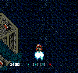 ImageFight TurboGrafx-16 Activating speed level 4.