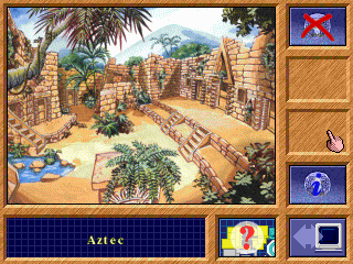 The Crystal Maze DOS Aztec zone