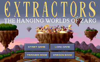 Diggers 2: Extractors DOS Title screen