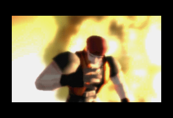 Dead or Alive SEGA Saturn Intro shot 3. Bayman introduction.