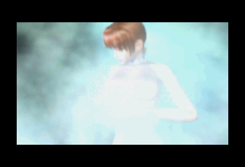 Dead or Alive SEGA Saturn Intro shot 7. Mmmm... CG nudity...