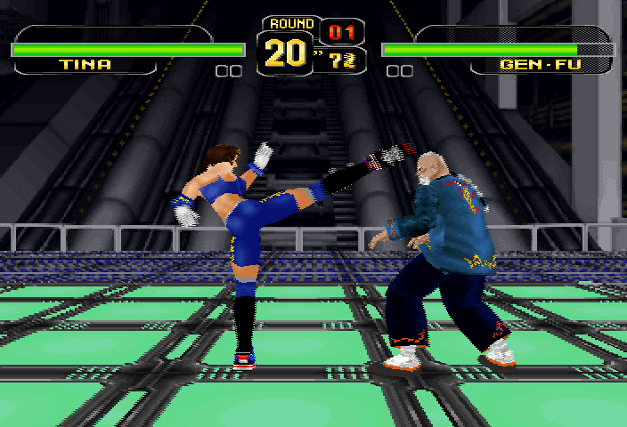 Dead or Alive SEGA Saturn Due to running in such a high resolution the game is forced to use frame interpolation.