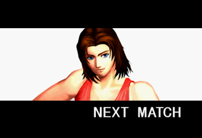 Dead or Alive SEGA Saturn Tina looks all kinds of beefy.