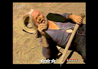 Mad Dog McCree SEGA CD ...and is summarily punished for his defiance of the local outlaws