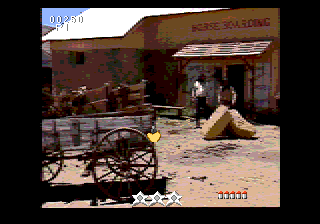 Mad Dog McCree SEGA CD Corral shootout
